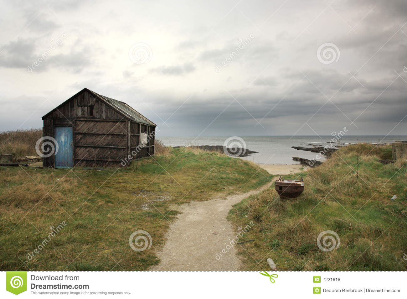 Royalty Free Stock Photos: Old shed, Northumberland