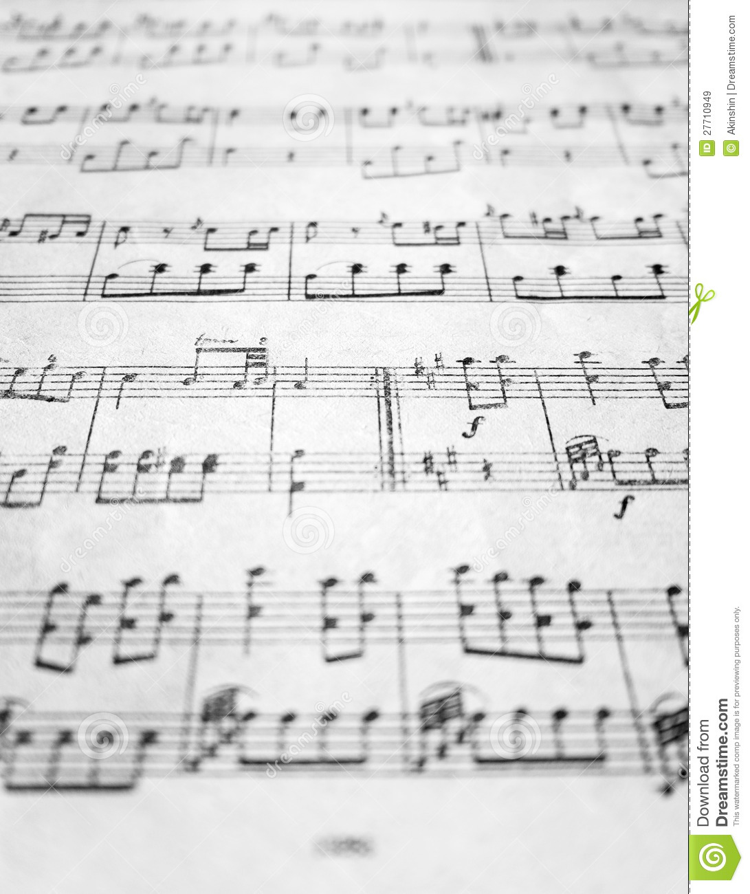 Full Theme Sheet Music Theoffice Us: Old Sheet Music Royalty Free Stock Images