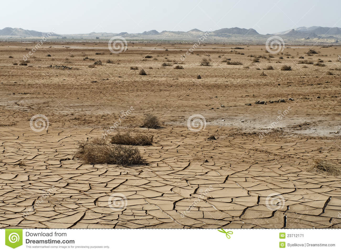 The Old Ship In The Dried Up Sea Stock Image - Image: 23712171