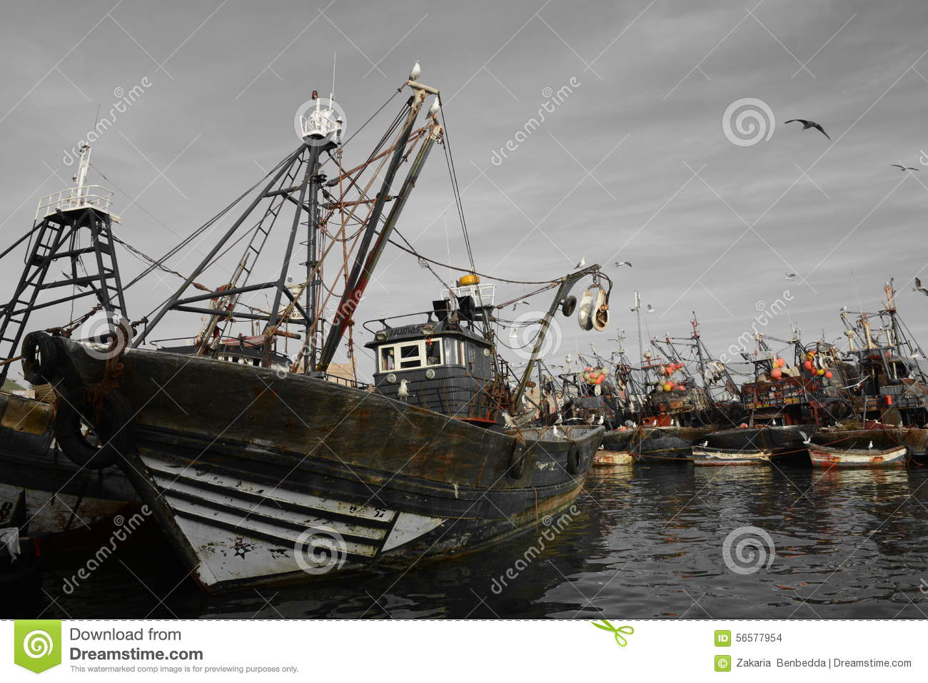 old ships port of essaouira morocco editorial photo image