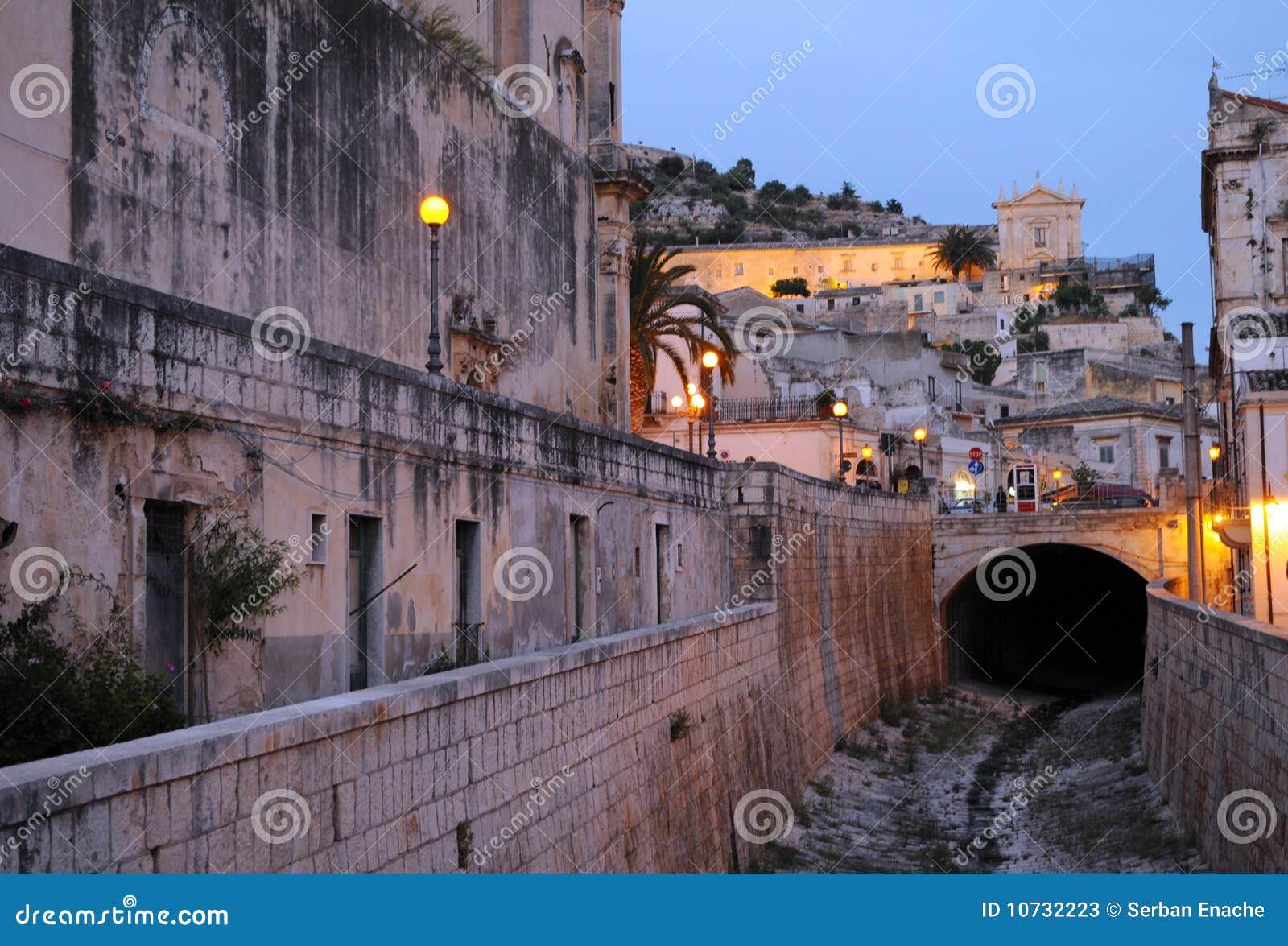 Old Sicily village
