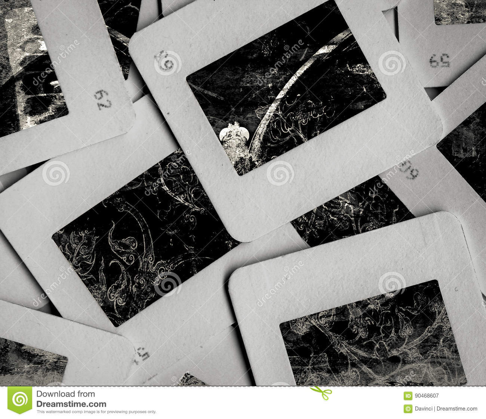 old slide stock image image of memory film paper album 90468607