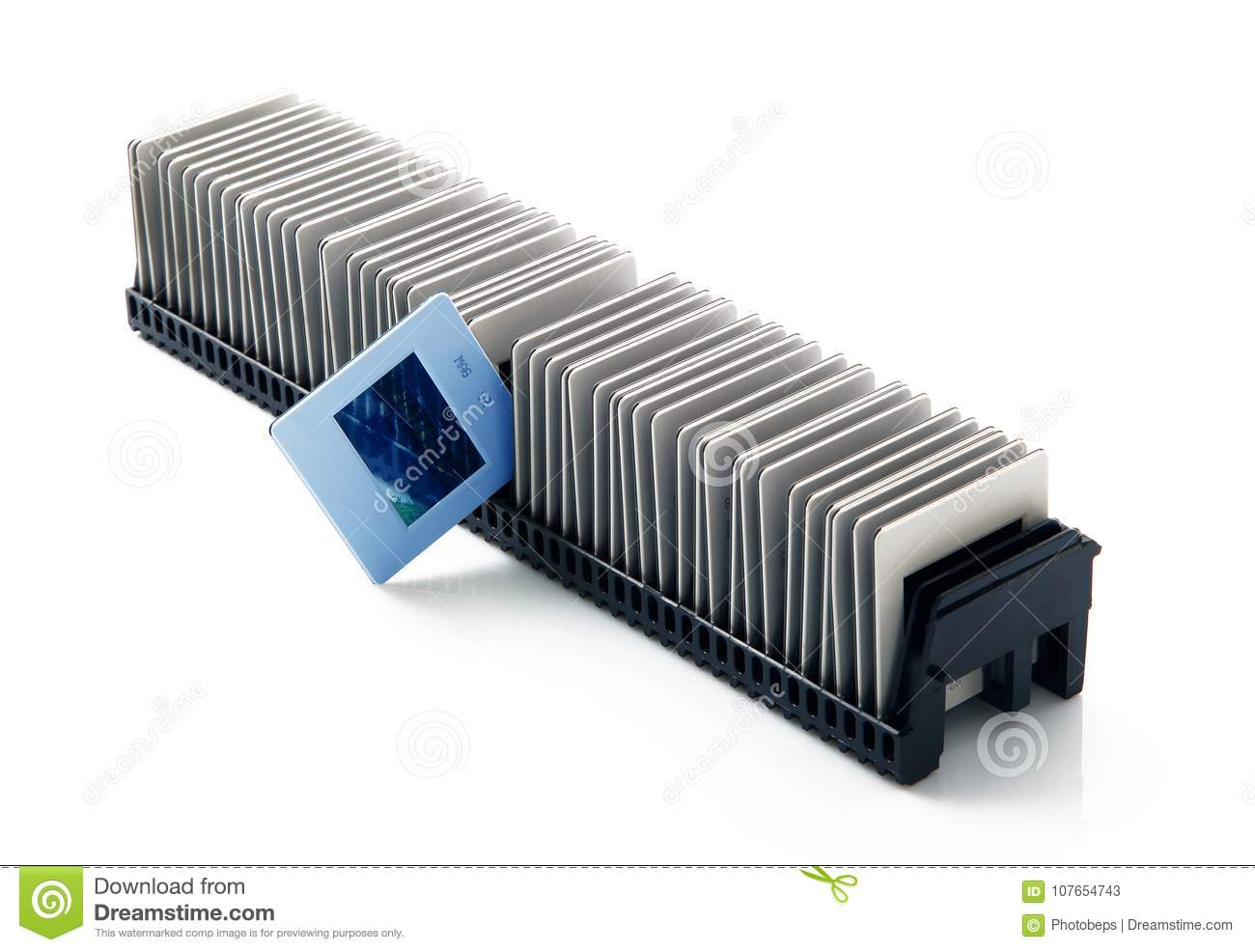 old slides in white background stock image image of background
