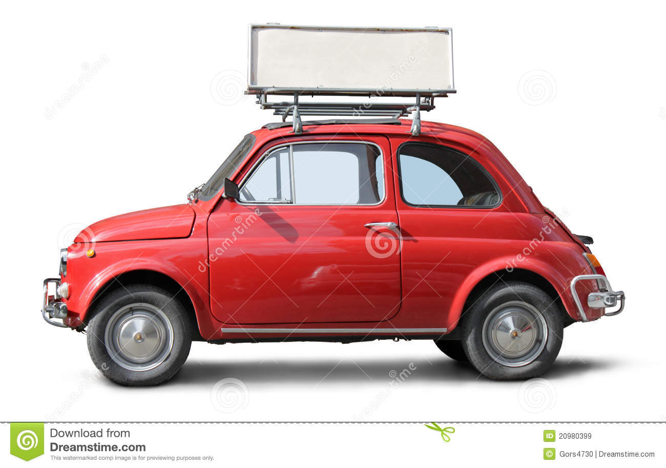 Old Small Car stock image. Image of economy, promotion - 20980399