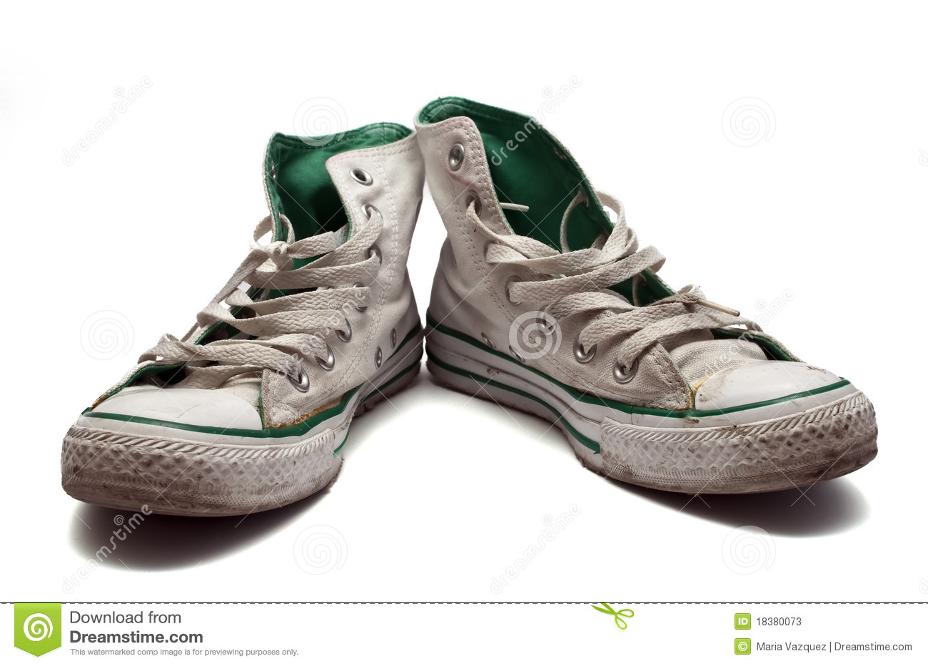 Old Sneakers Stock Photos - Image: 18380073