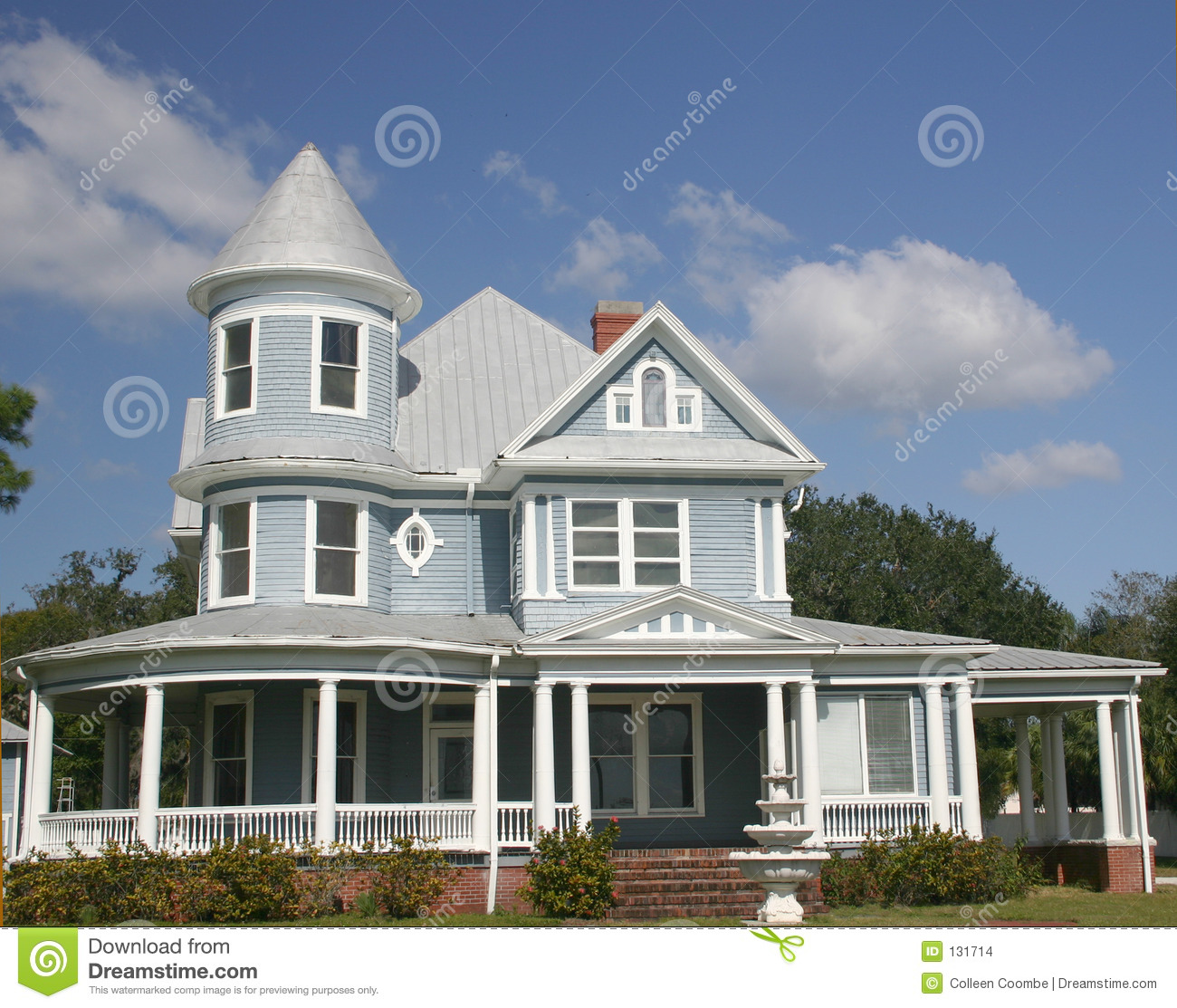 Old Southern Home Stock Images Image 131714