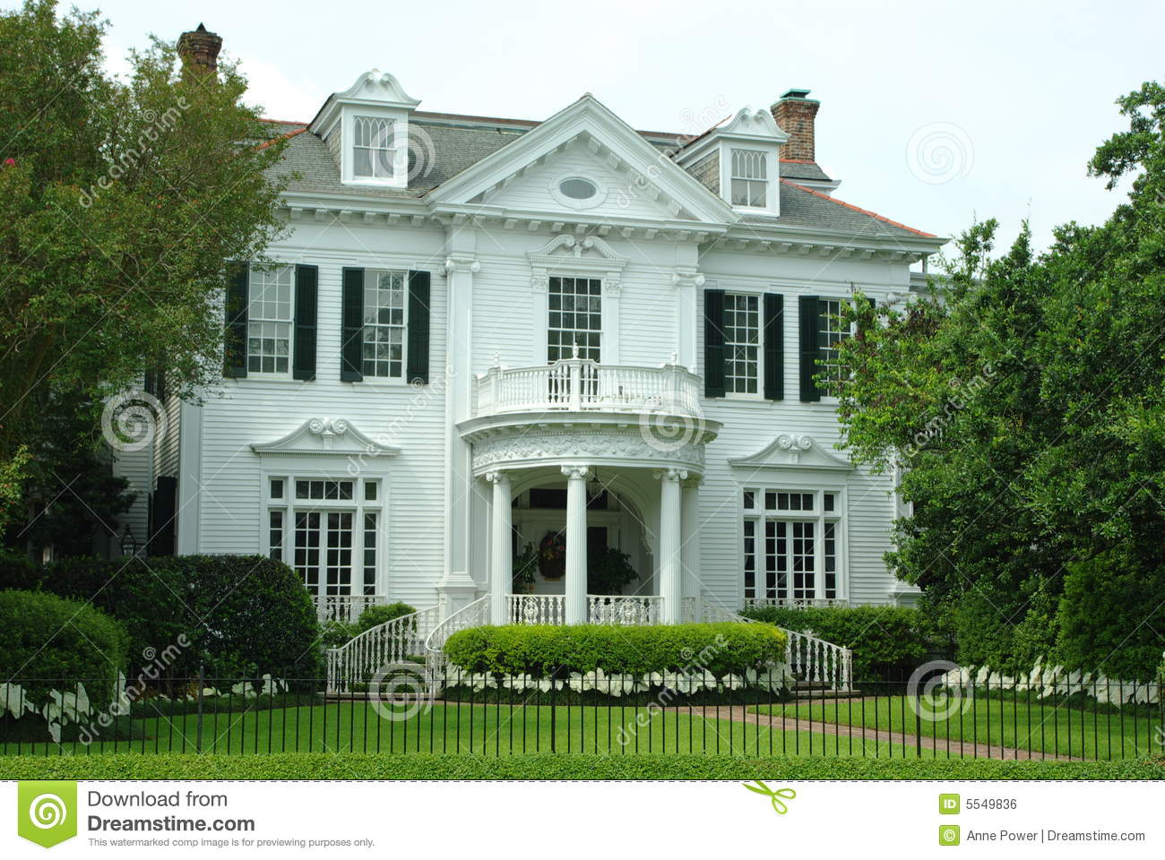 Old Southern Mansion Royalty Free Stock Image Image 5549836