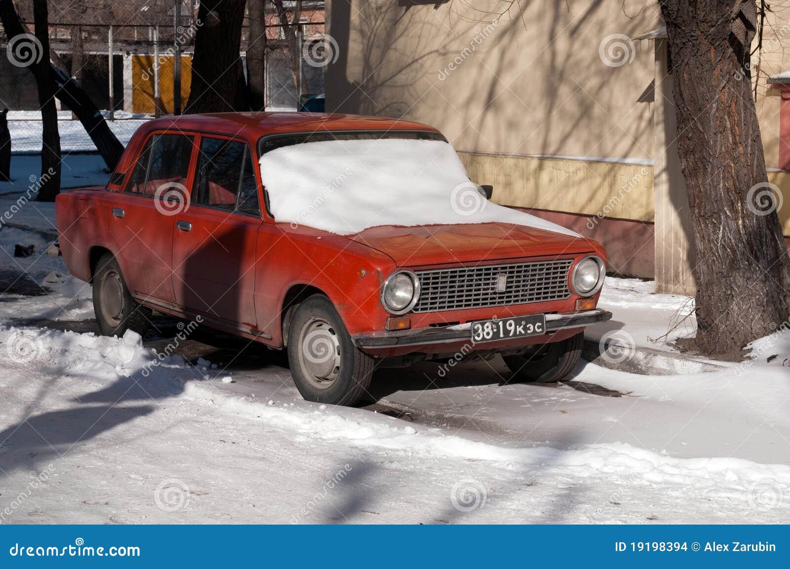 old soviet car vaz 2101 kopeyka editorial stock image image of