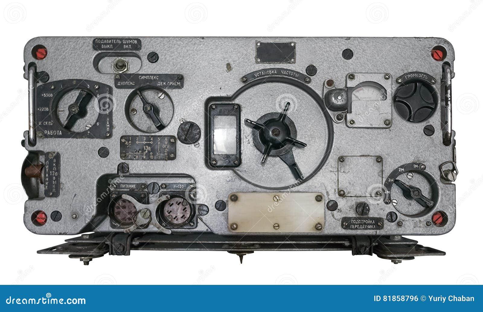old-soviet-military-radio-reciever-isola