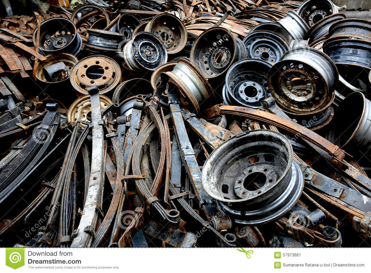 Old spare parts stock image. Image of auto, steel, broken - 57973661