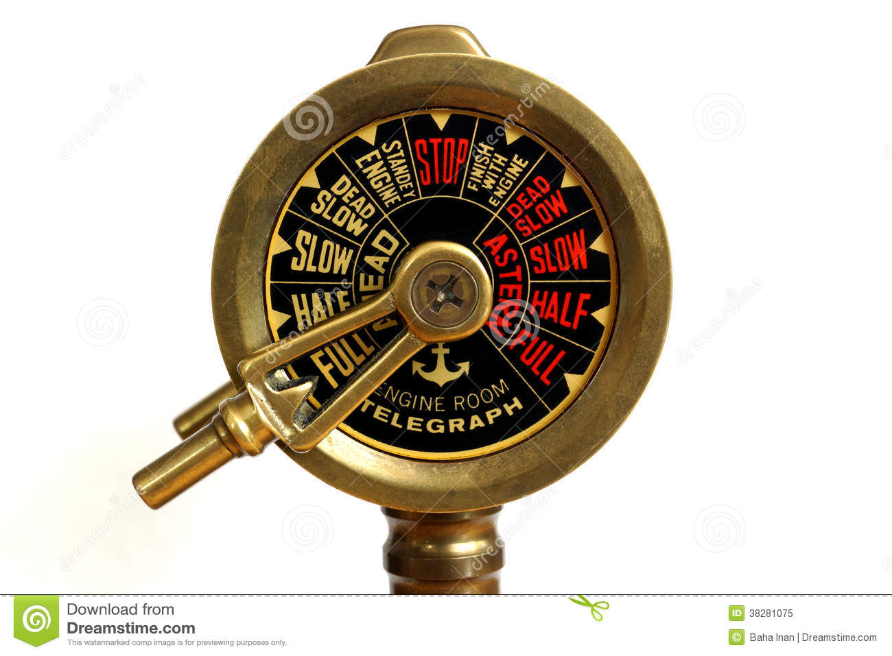 Old Speed Control Royalty Free Stock Photo Image 38281075