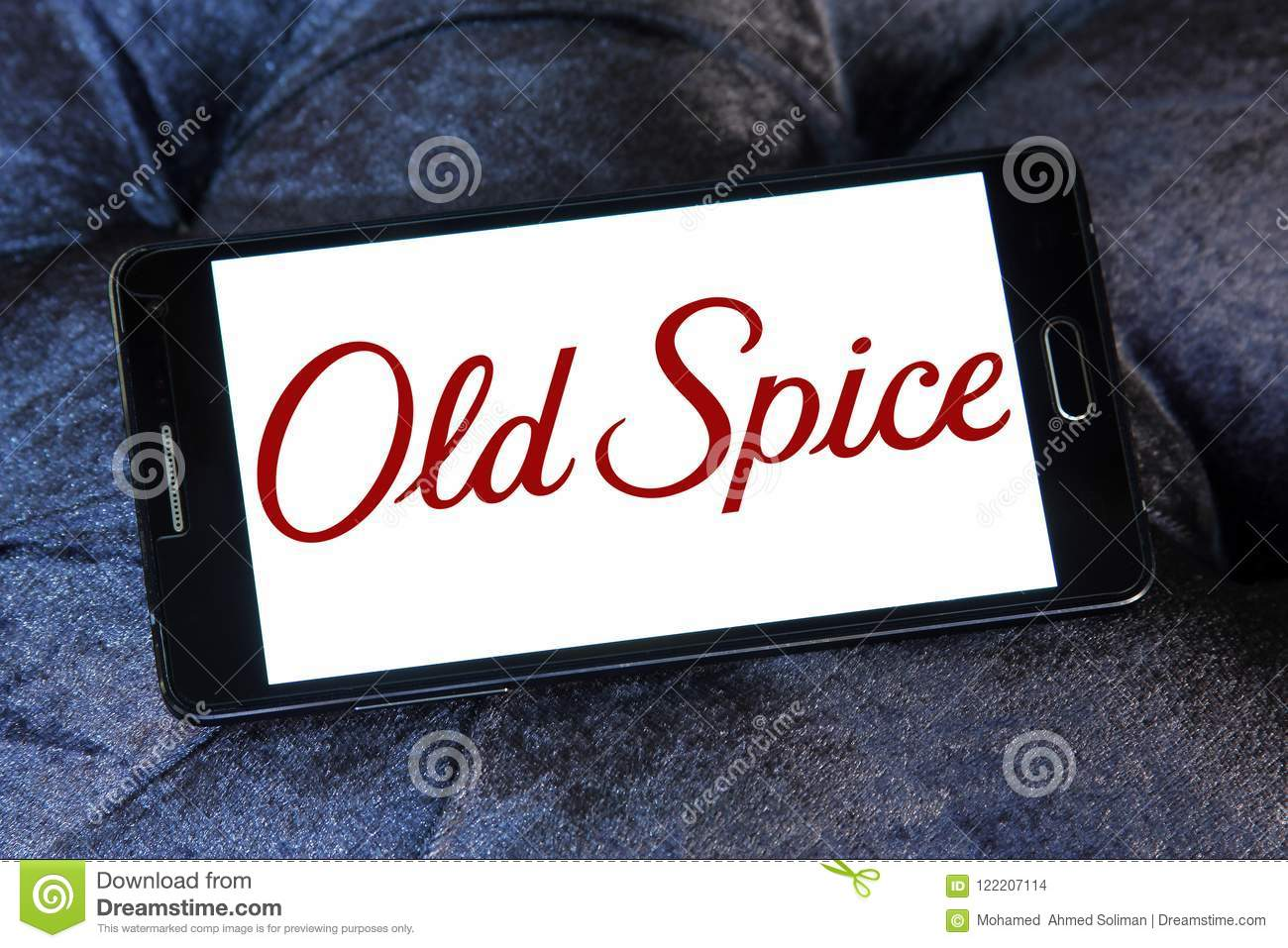 Old Spice Brand Logo Editorial Stock Image Image Of Male 122207114