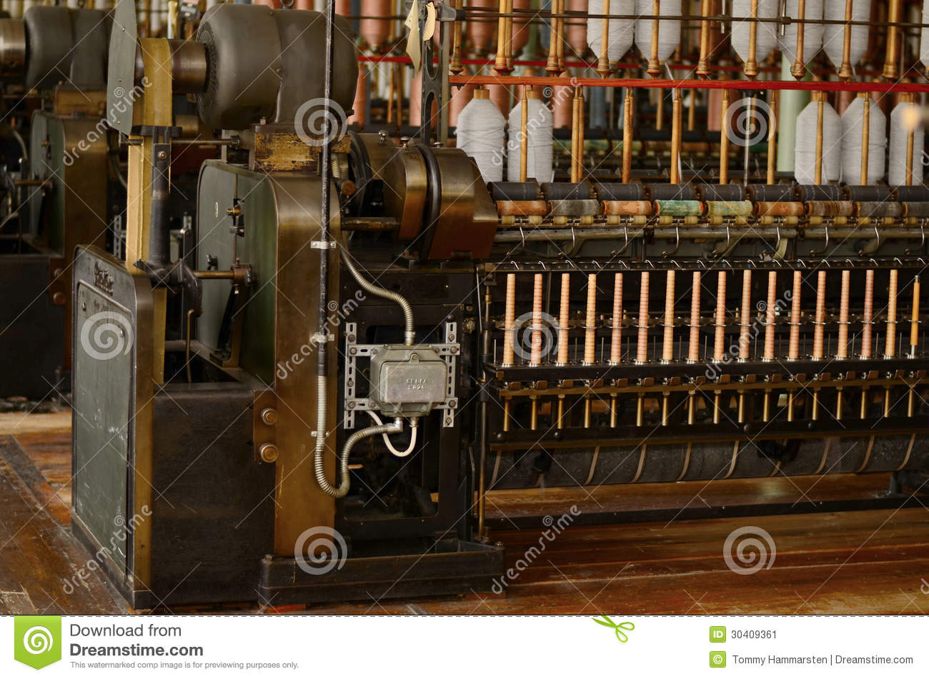 Old Spinning machines