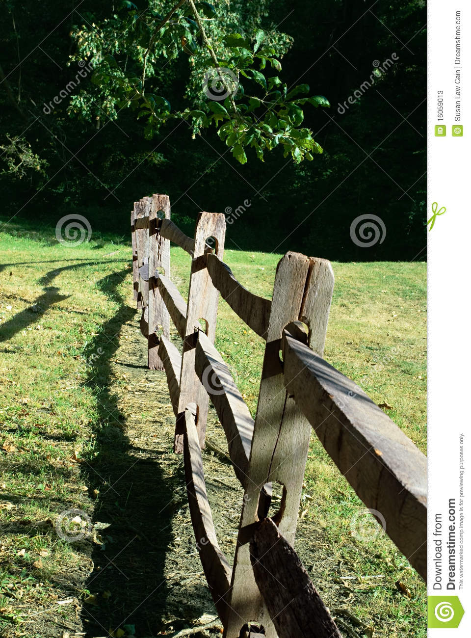 Old Split Rail Fence Stock Image Image Of Landscapes