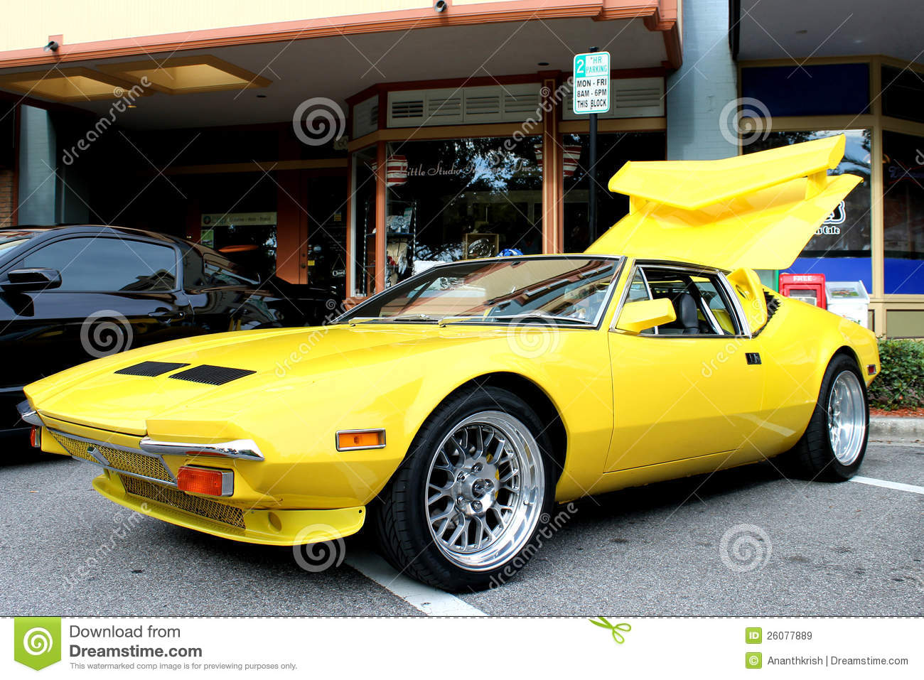 The old sports car stock image. Image of collection, coupe - 26077889