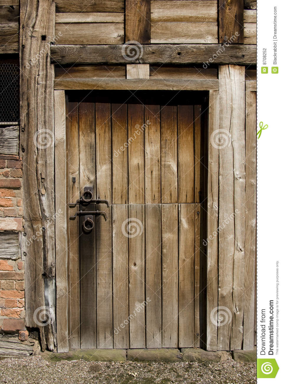 Old Stable Door Stock Photography Image 8708252