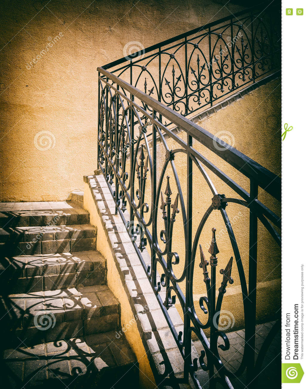 Old Staircase Outdoors Stock Photo Image Of Abstract 79782298