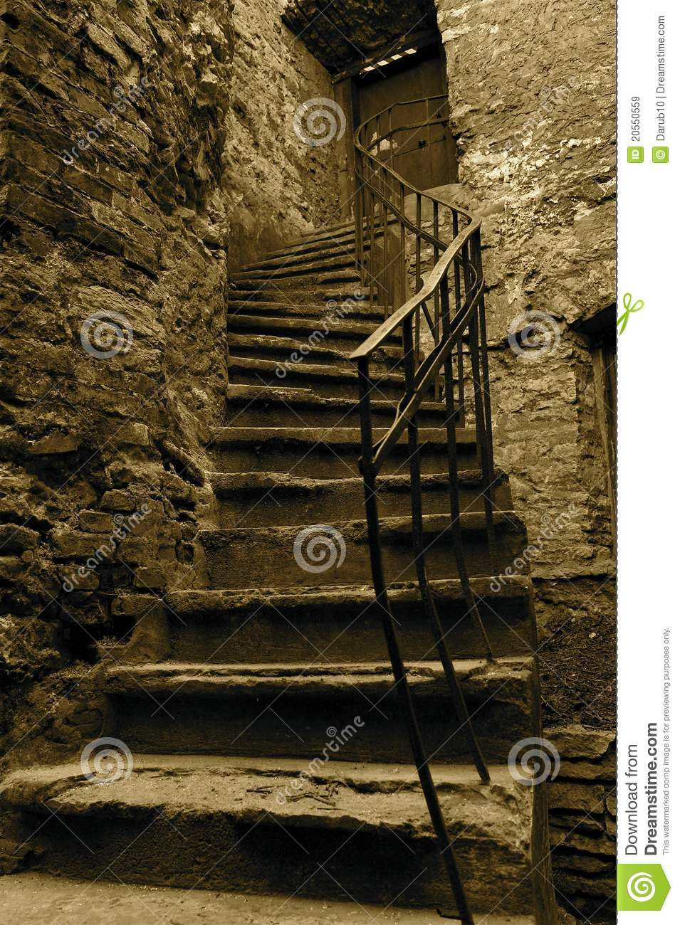 old stairs royalty free stock images image 20550559