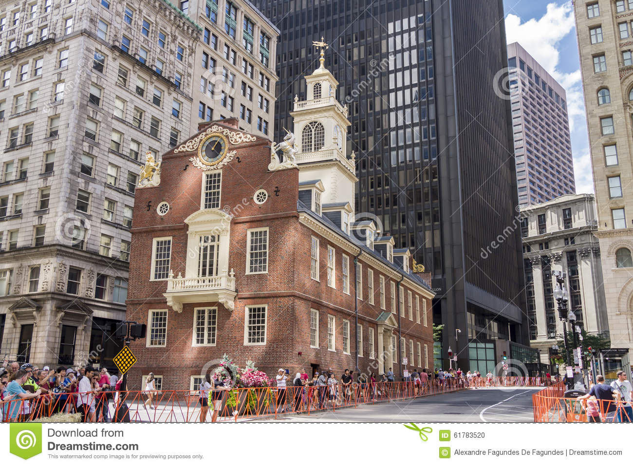 Old state house in boston massachusetts editorial image for Building a house in ma