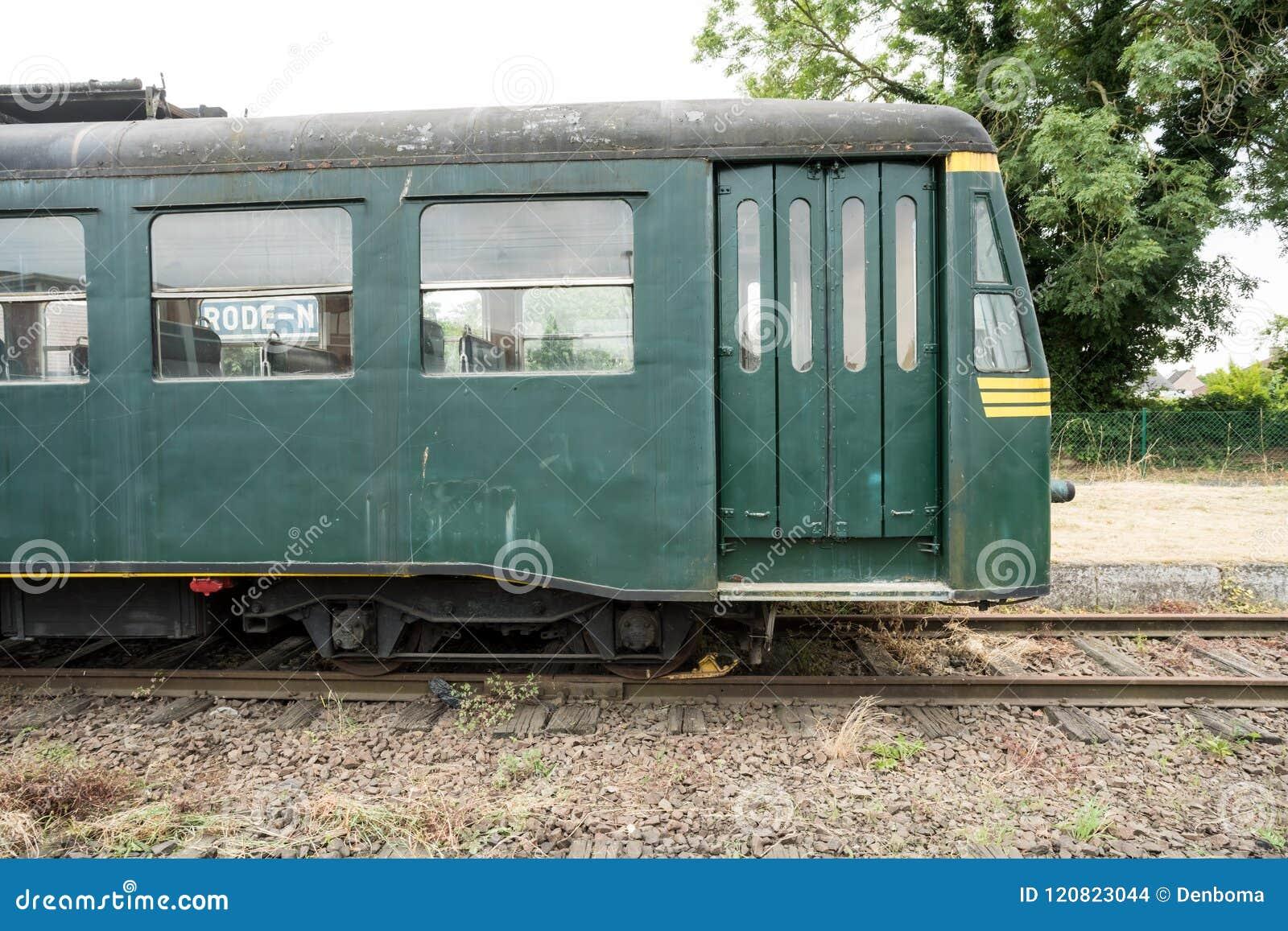 An old train