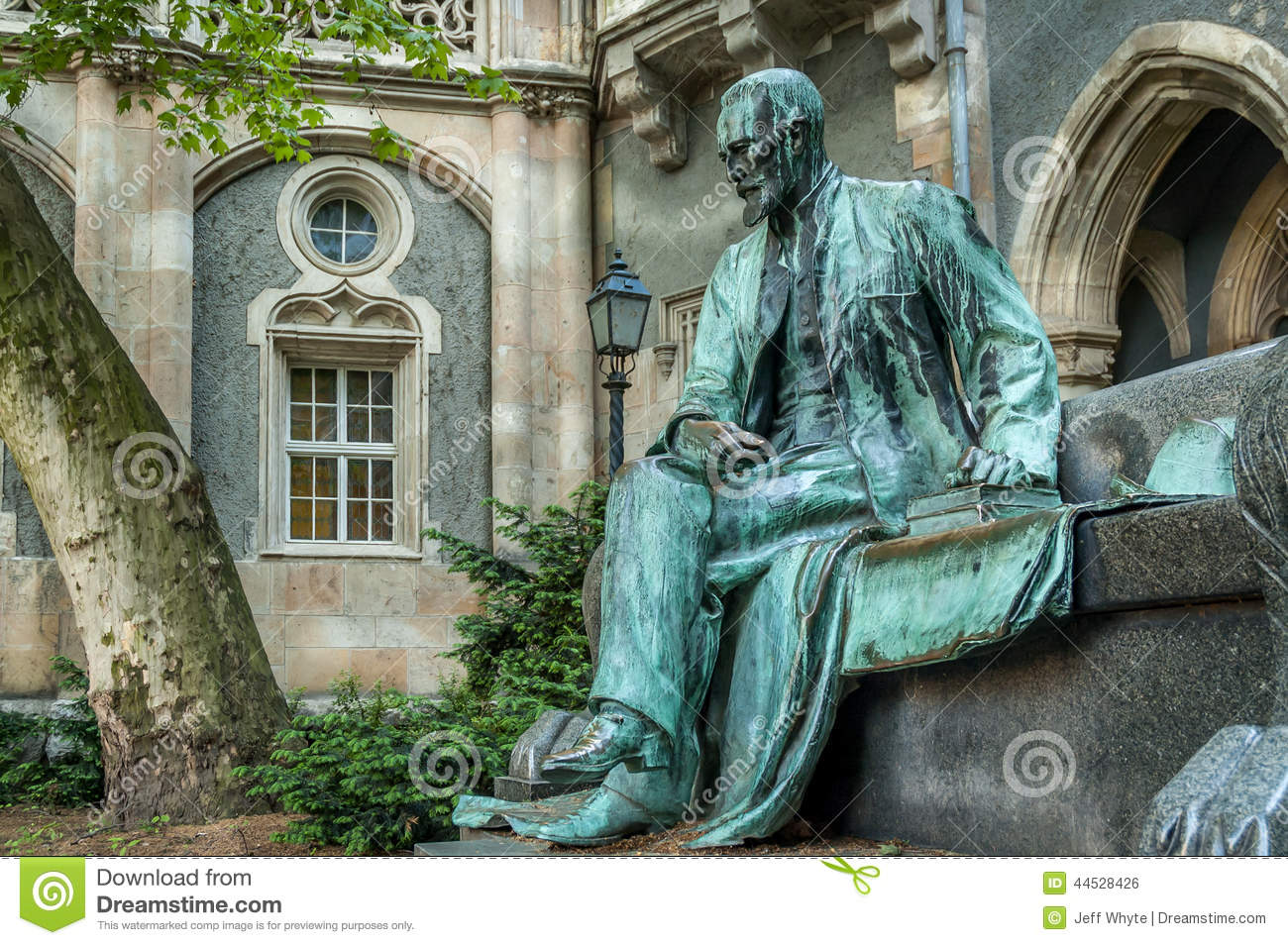 Old Statue At Vajdahunyad Castle Stock Photo Image Of