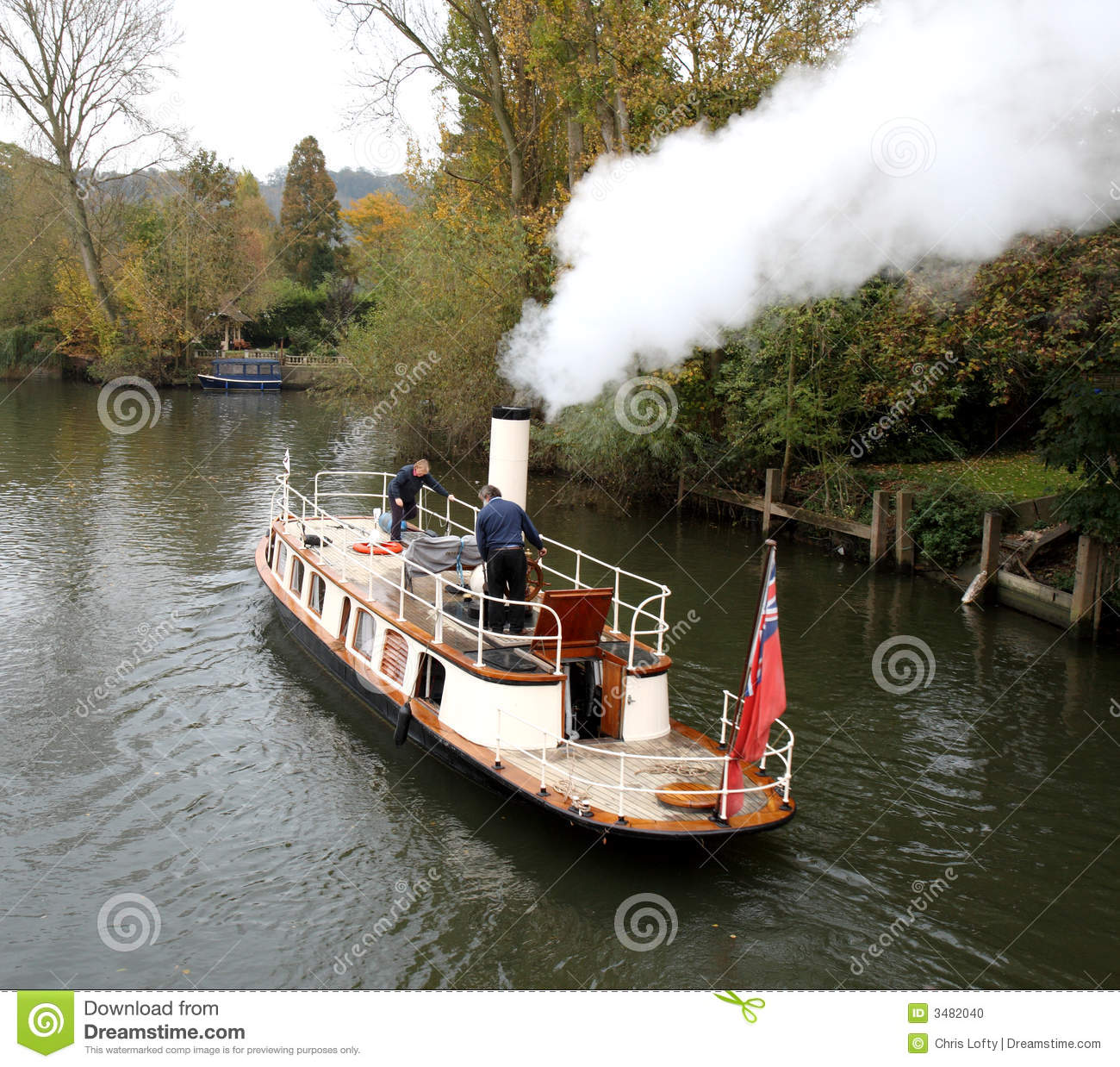 Old Steam Boat Stock Photo Image Of Tourism England