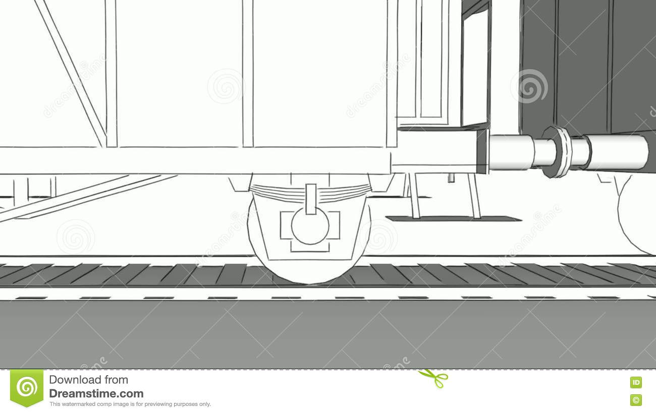 Old steam train close up sketch animation stock footage video of old steam train close up sketch animation stock footage video of freight monochrome 72539940 malvernweather Images