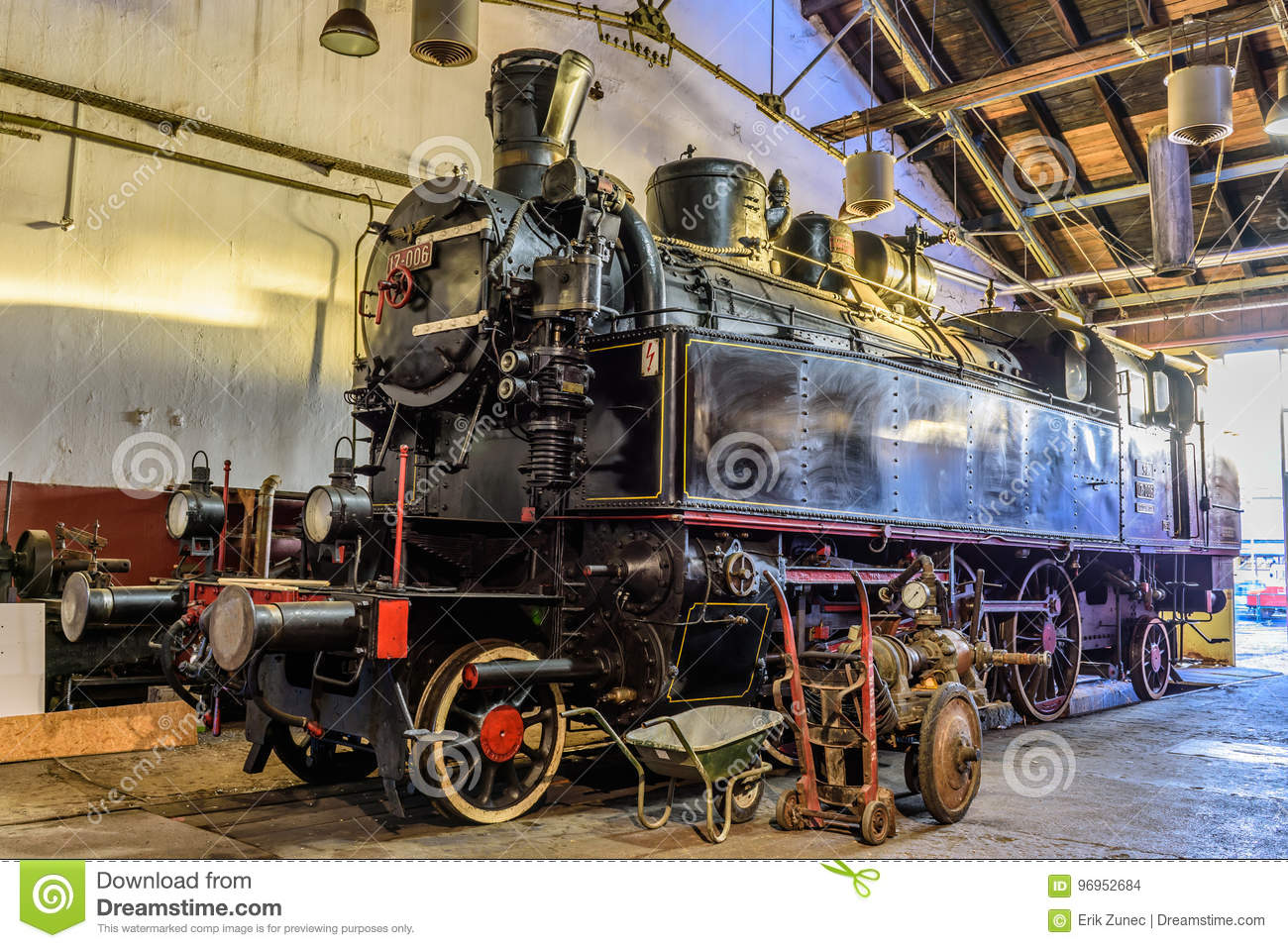 steam train museum