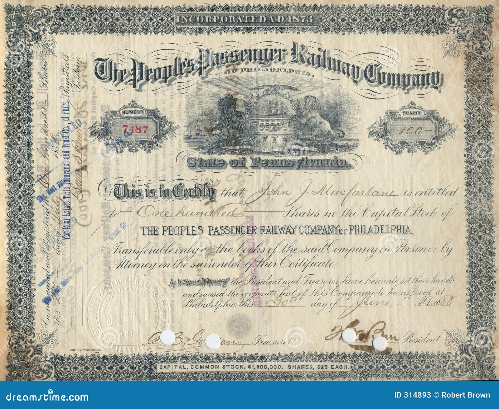 Jardine Matheson Group Stock: Old Stock Certificate 3 Stock Photos