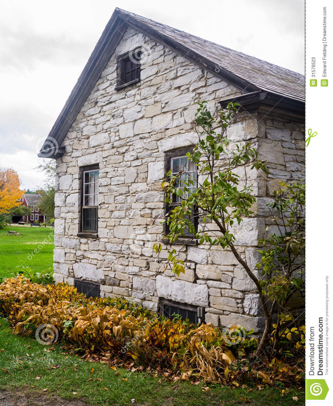 Old Stone Building Stock Photos Image 31576523