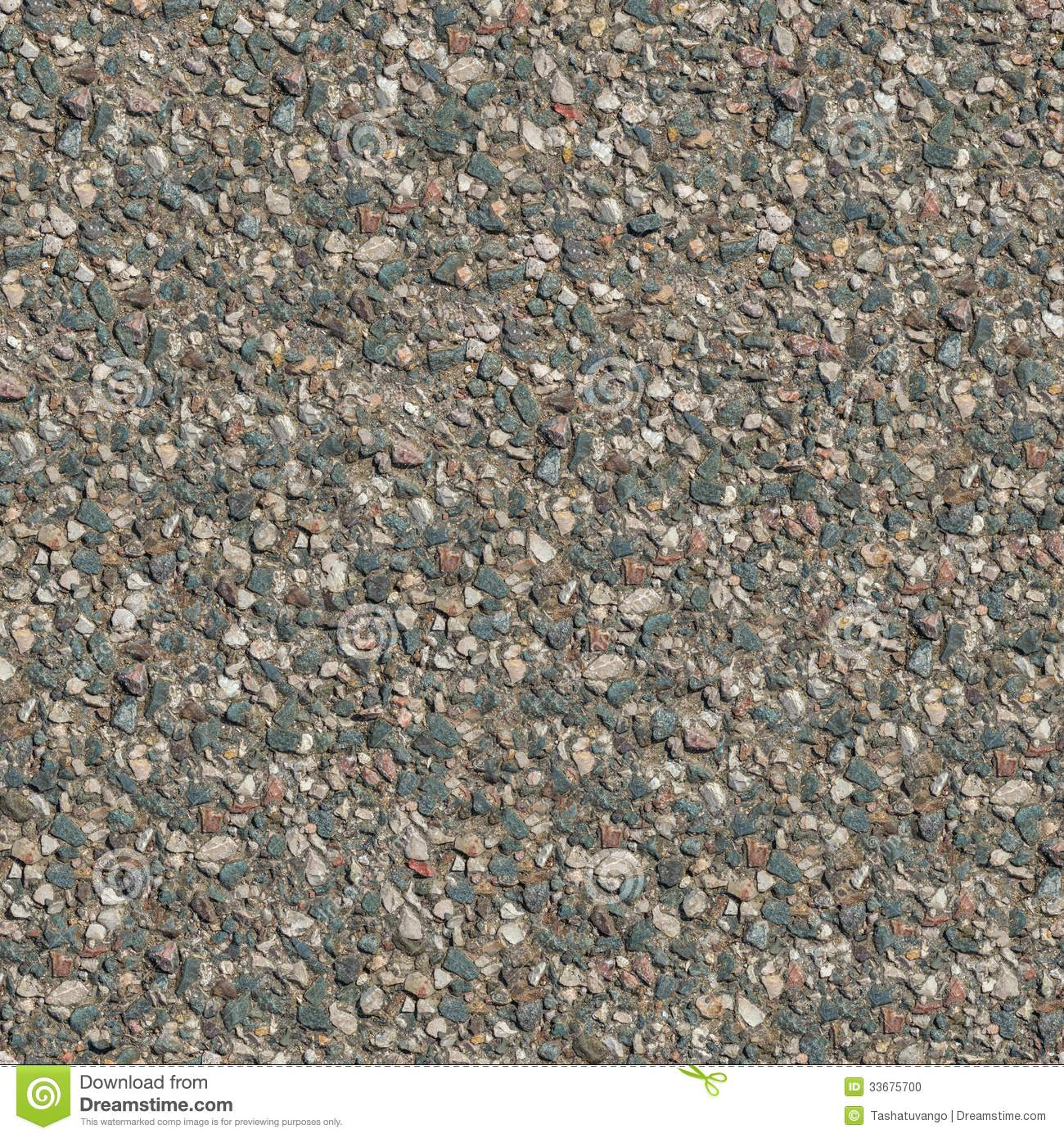 Seamless Tileable Texture of Fragment of Old Stone Road  Big Size Seamless Stone Road Texture