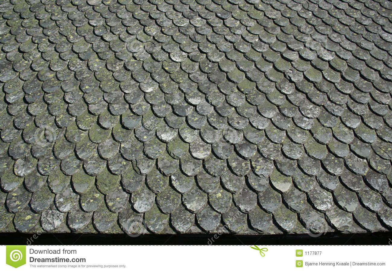 Old Stone Roof Stock Image Image Of Roof Rural Grey