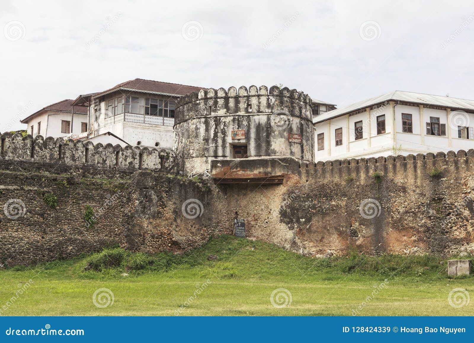 Old Stone Town In Zanzibar Island Tanzania Stock Image