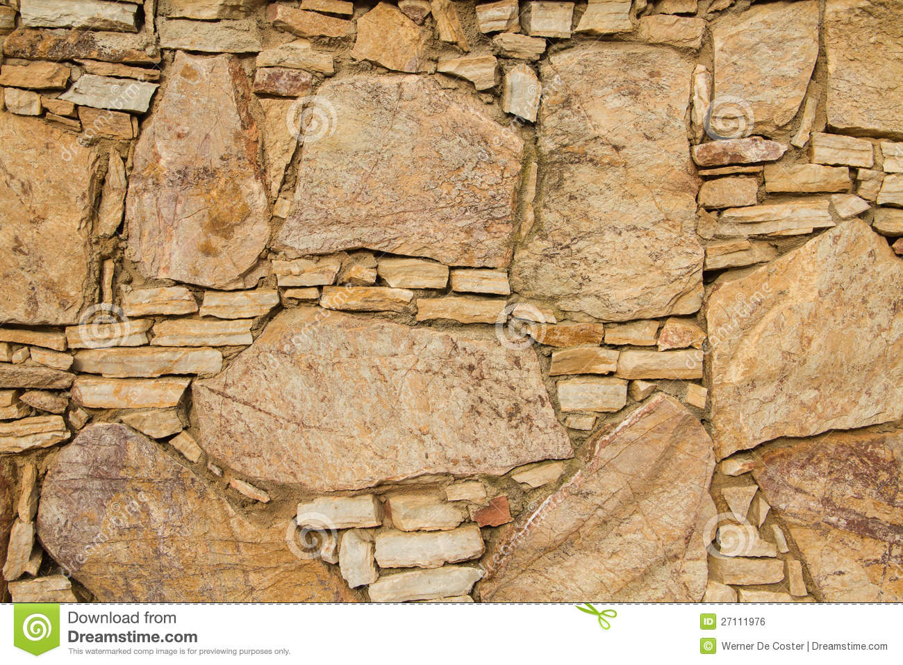 Old sandy stone wall texture build with big and small bricks and ...