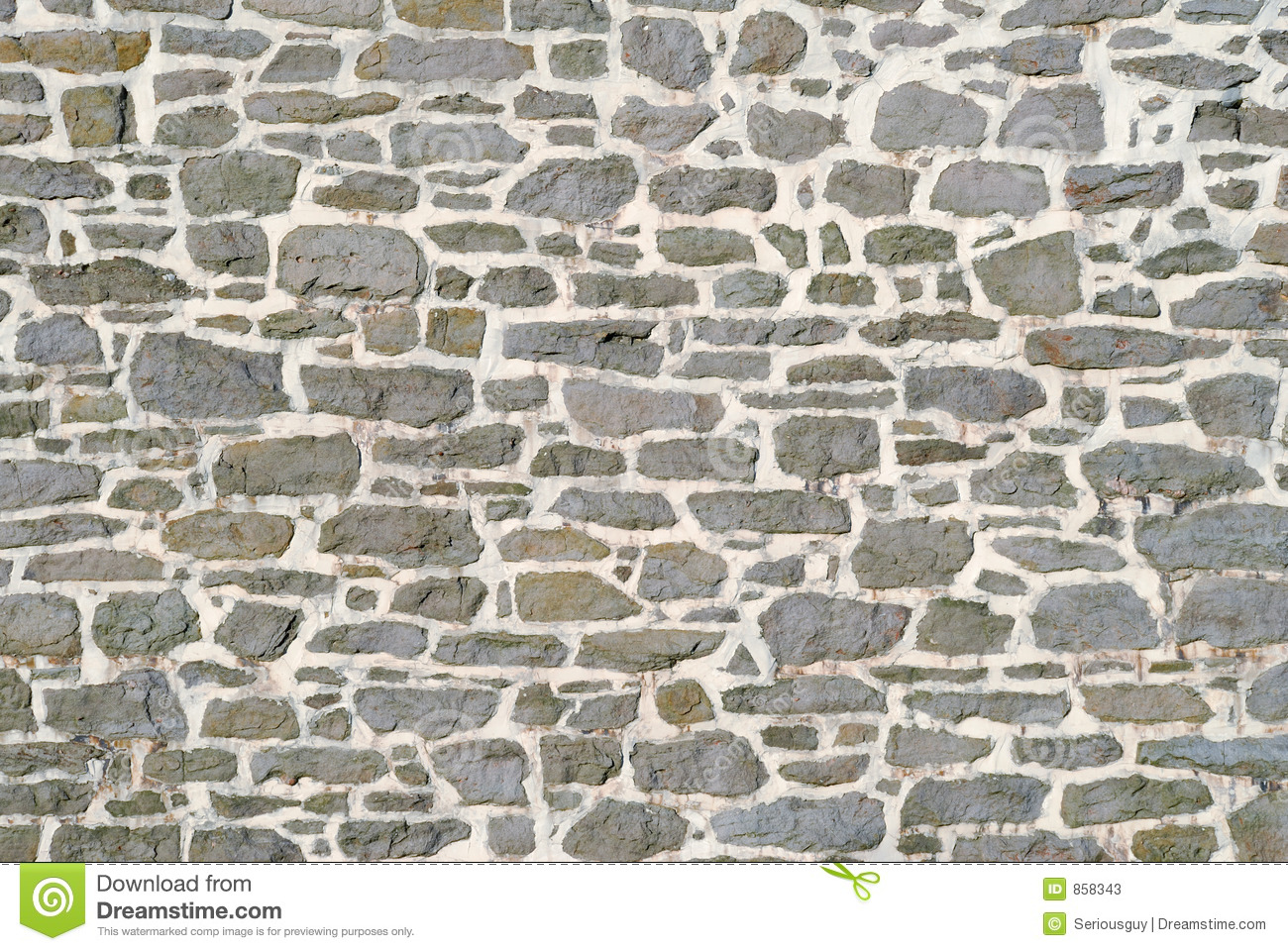 Old Stone Wall Stock Image Image Of Mortar Trade Stone