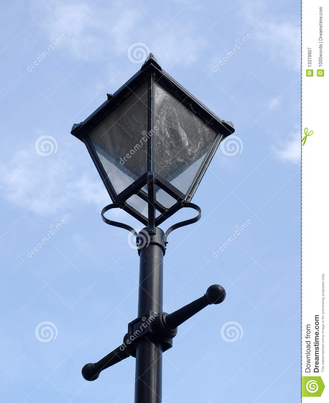 Old Street Light Royalty Free Stock Photography Image