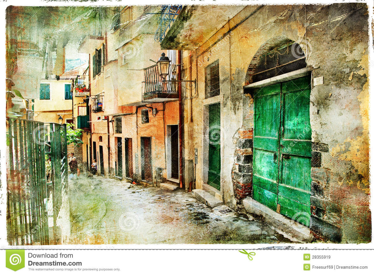 Old Streets Of Italy Royalty Free Stock Images Image 28355919