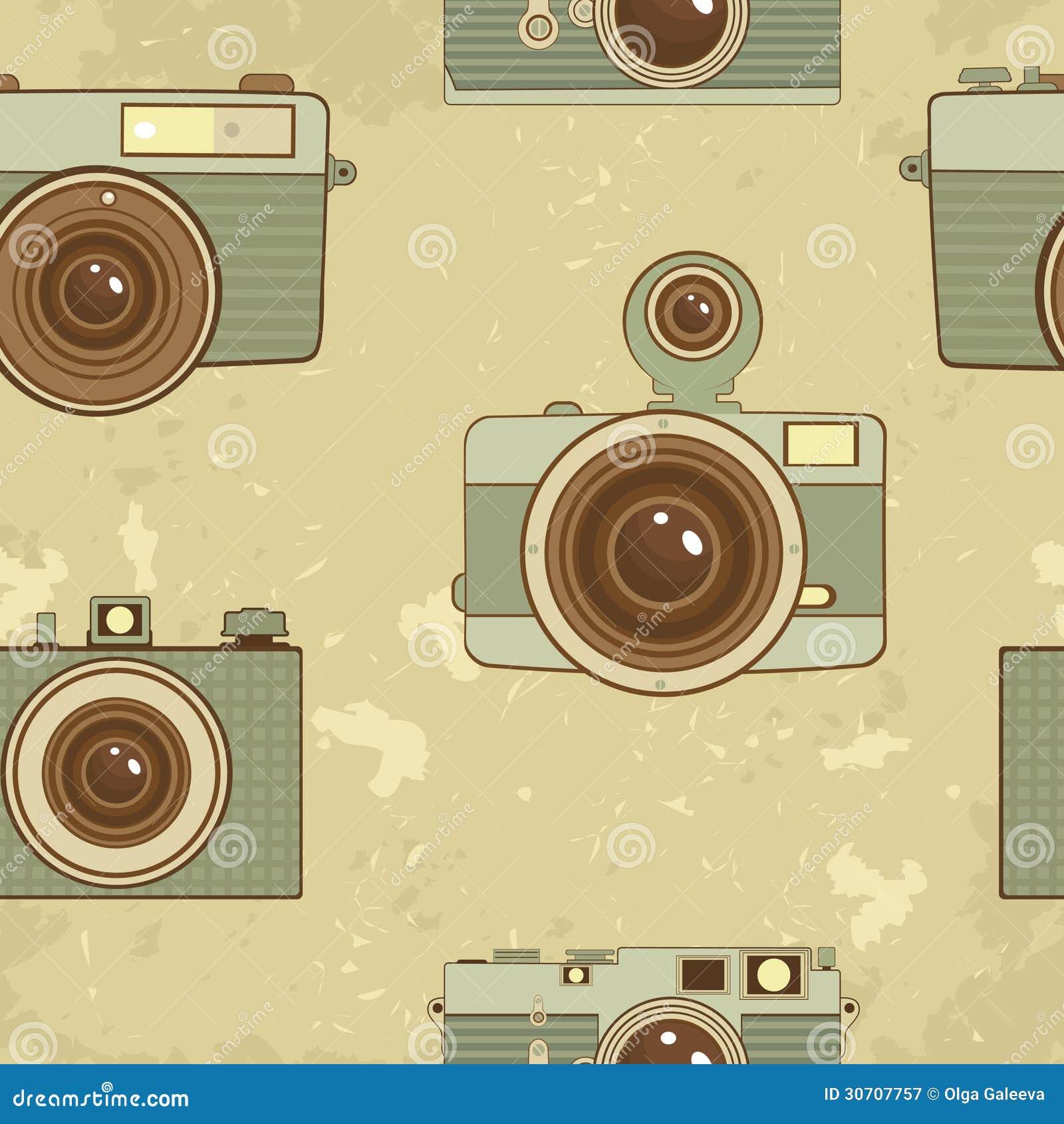 Vintage Camera Backgrounds Old style cameras background Vintage Camera Backgrounds