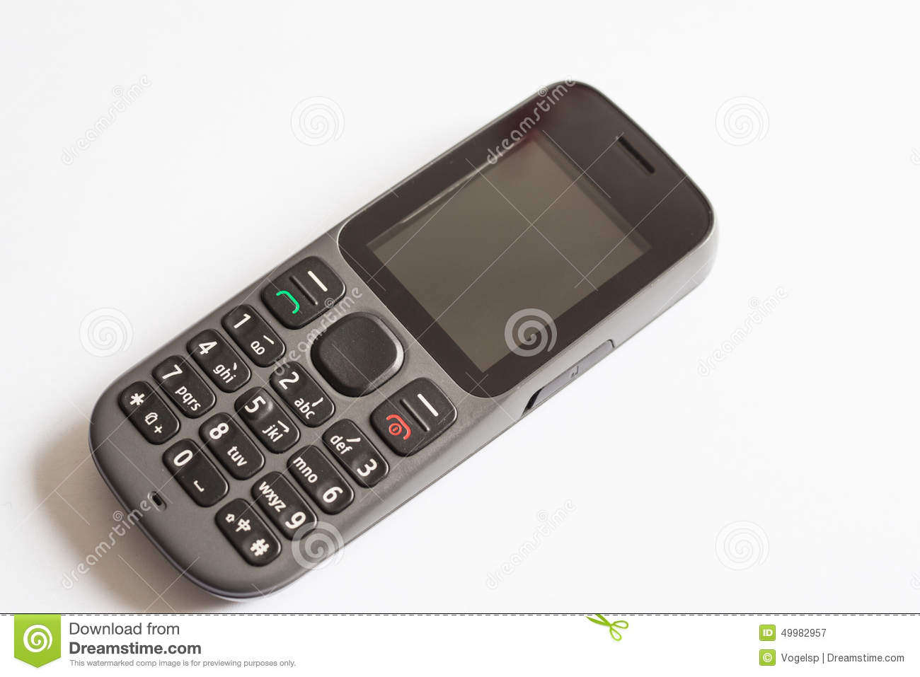 Old Style Cellphone Stock Image Image Of Keyboard Fashion 49982957