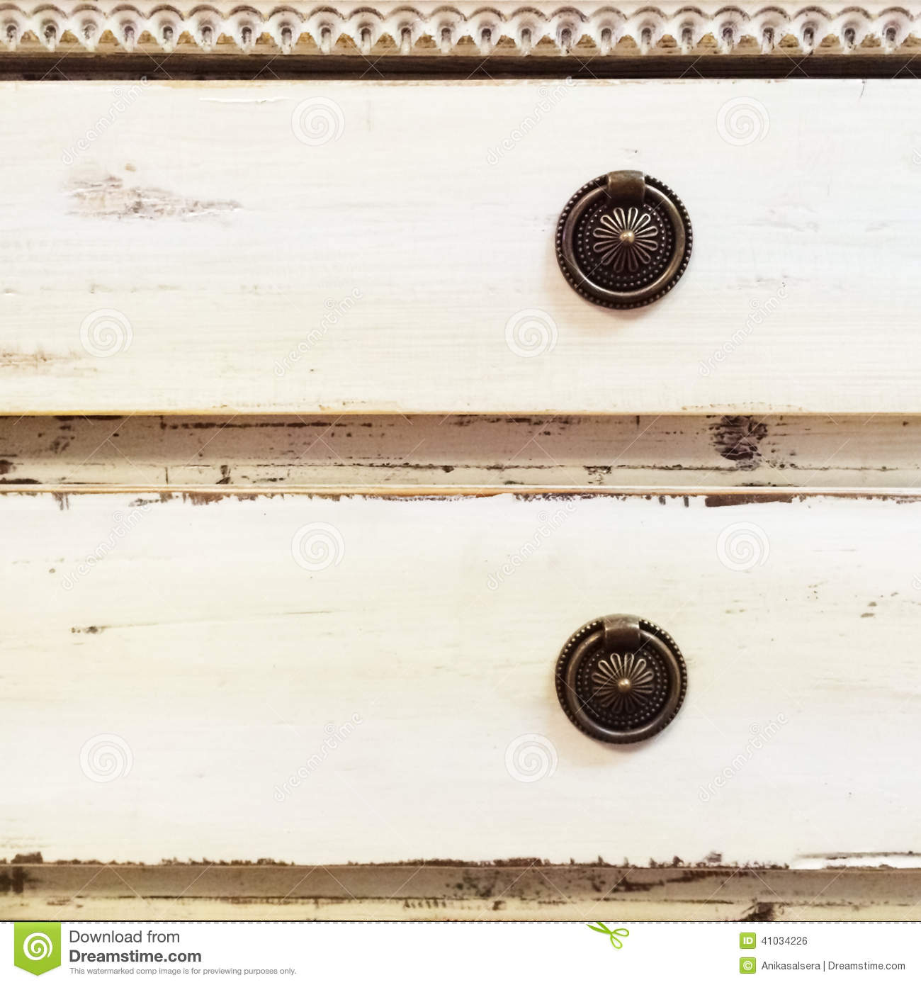 Old Style Chest Of Drawers Stock Photo Image Of Drawer
