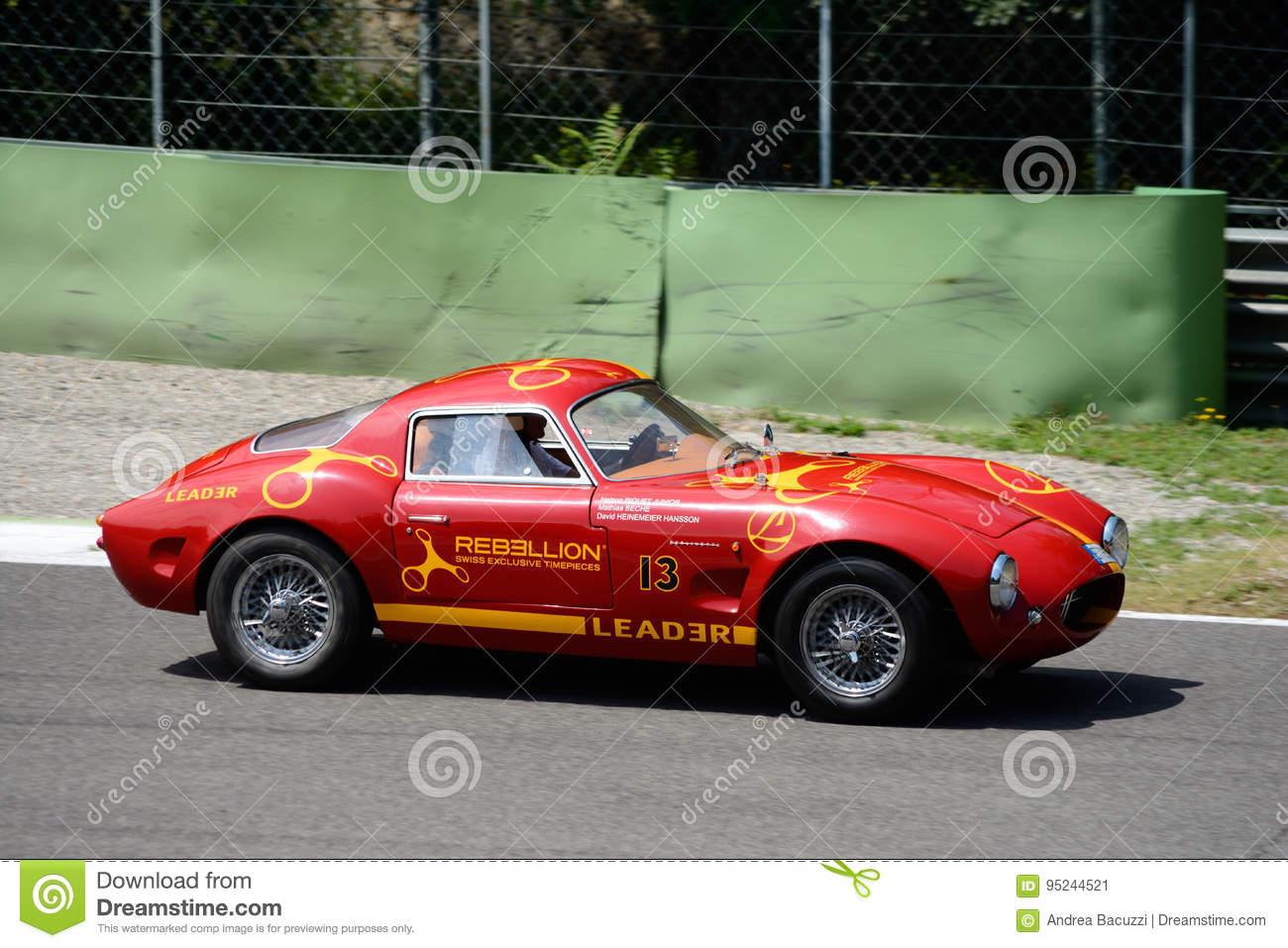 "Old Style Custom Car Effeffe ""Berlinetta"" Editorial Photo - Image of ..."