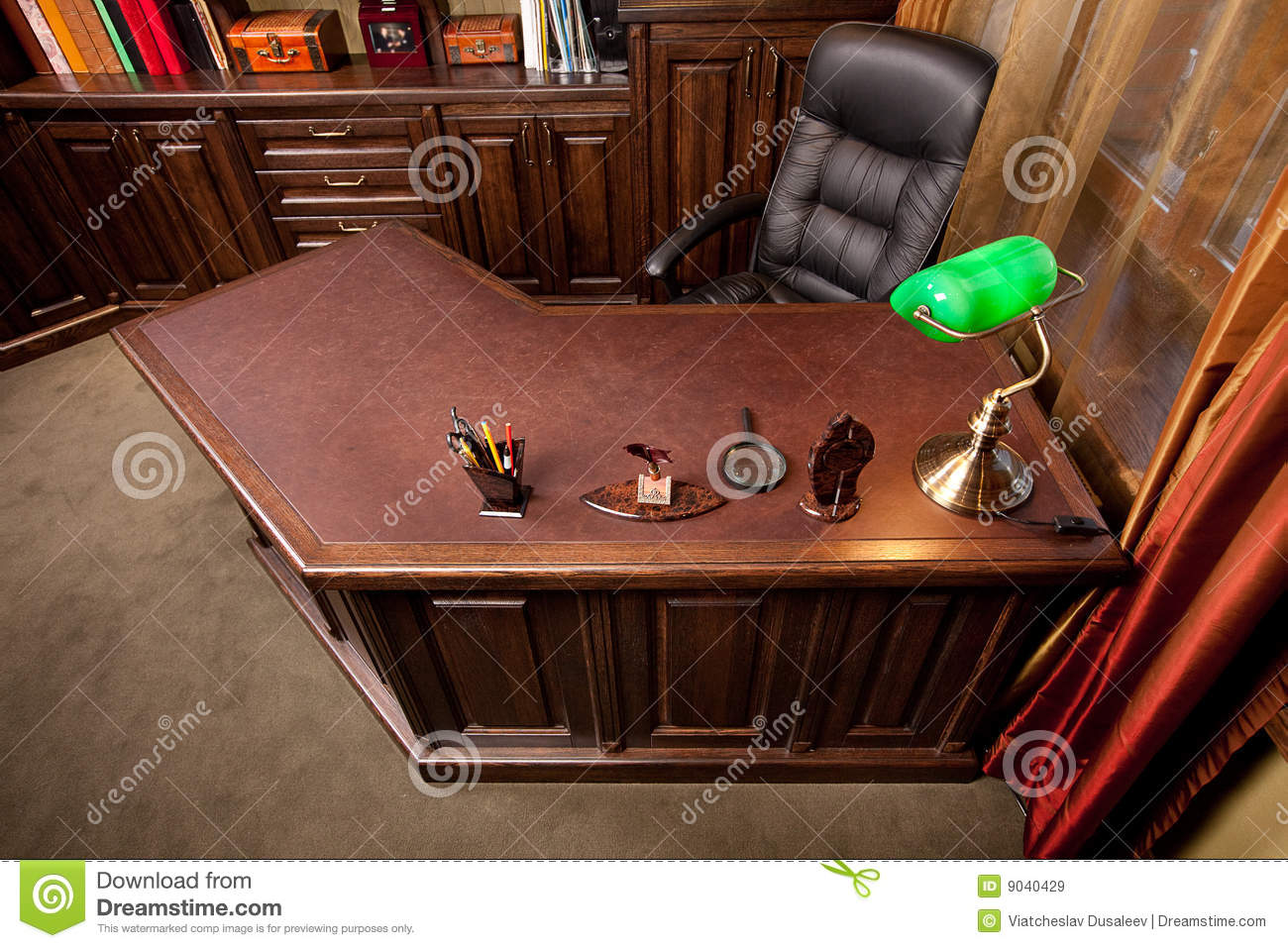 Old Style Home Office Royalty Free Stock Images Image