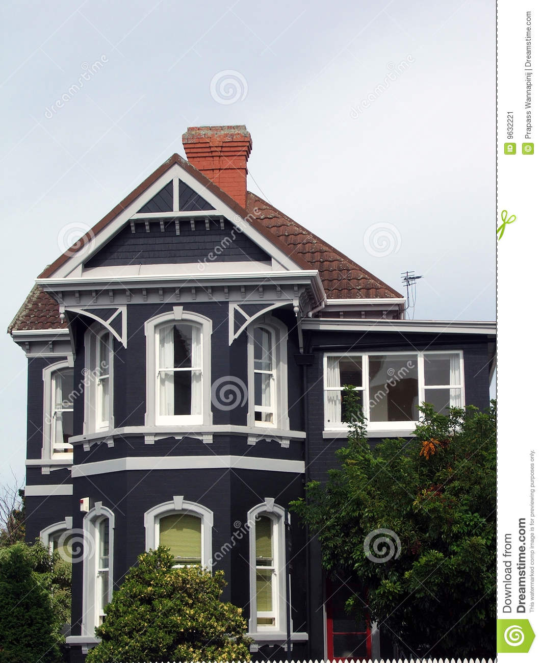 Old Style House Stock Image Image Of House Home Mansion
