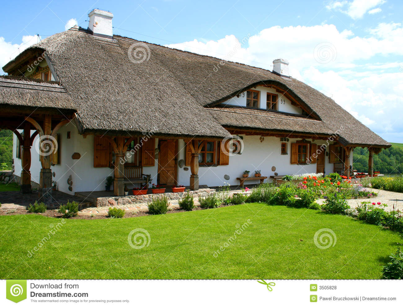 Old style house in the country royalty free stock photos for Country house online