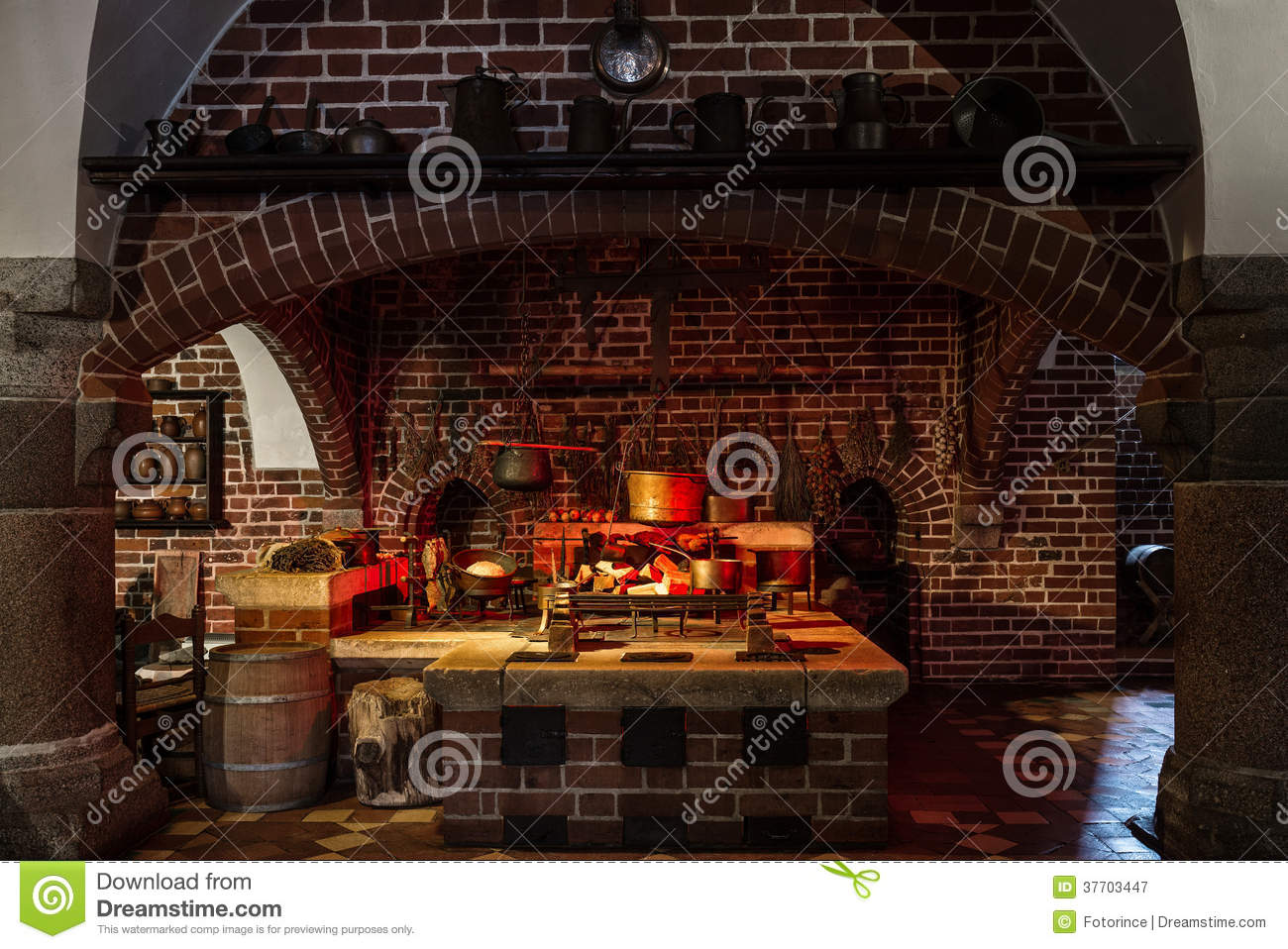 Old style kitchen royalty free stock photography image 37703447