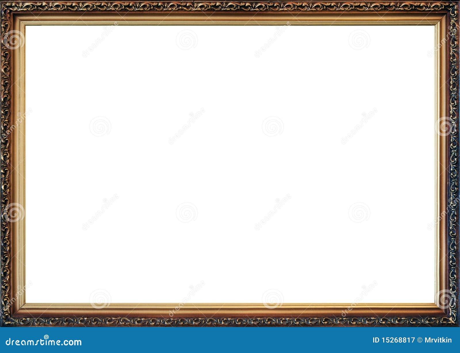 Old Style Photo Frame Stock Illustration Illustration Of