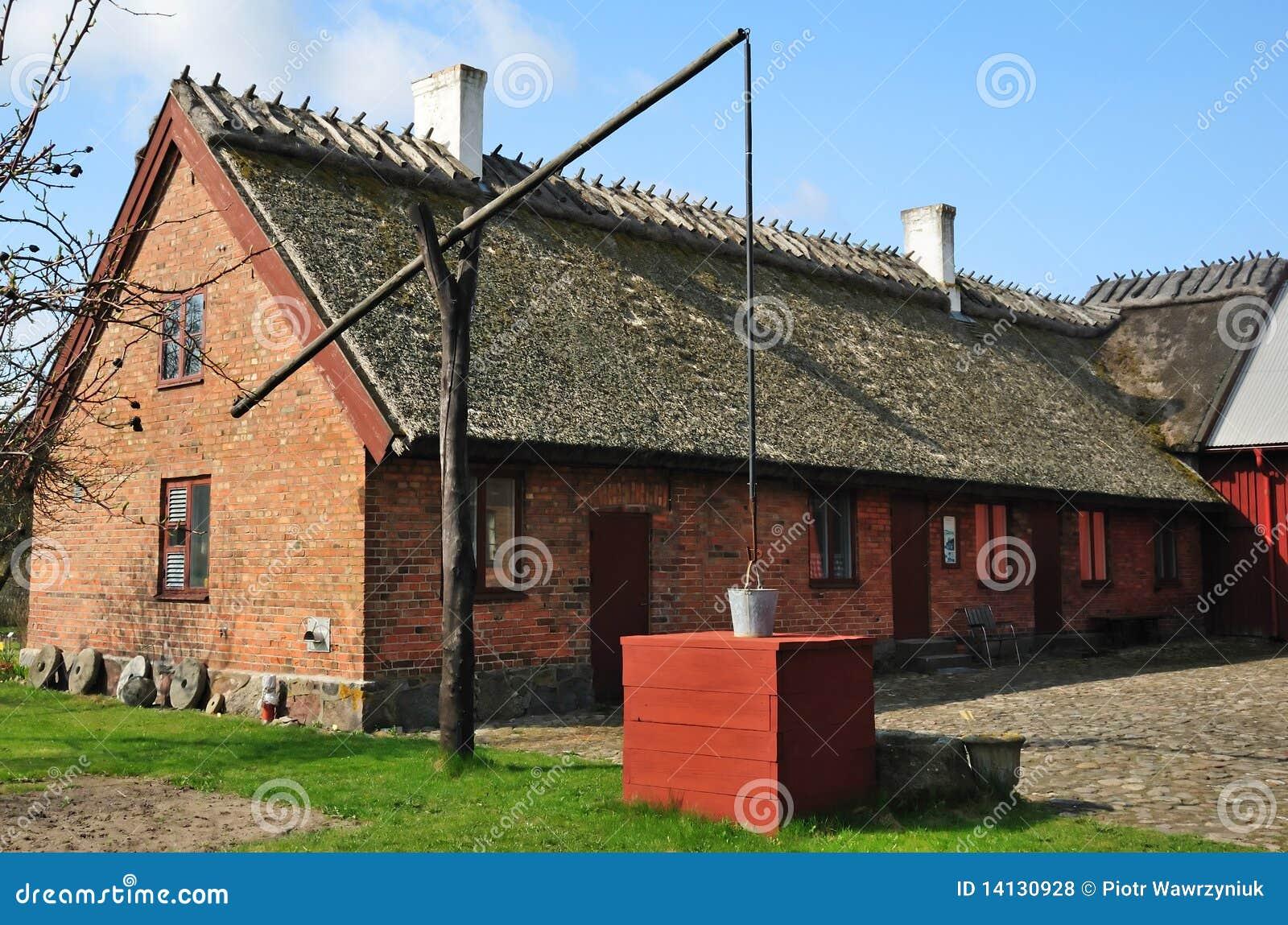 Old Swedish Farmhouse Royalty Free Stock s Image