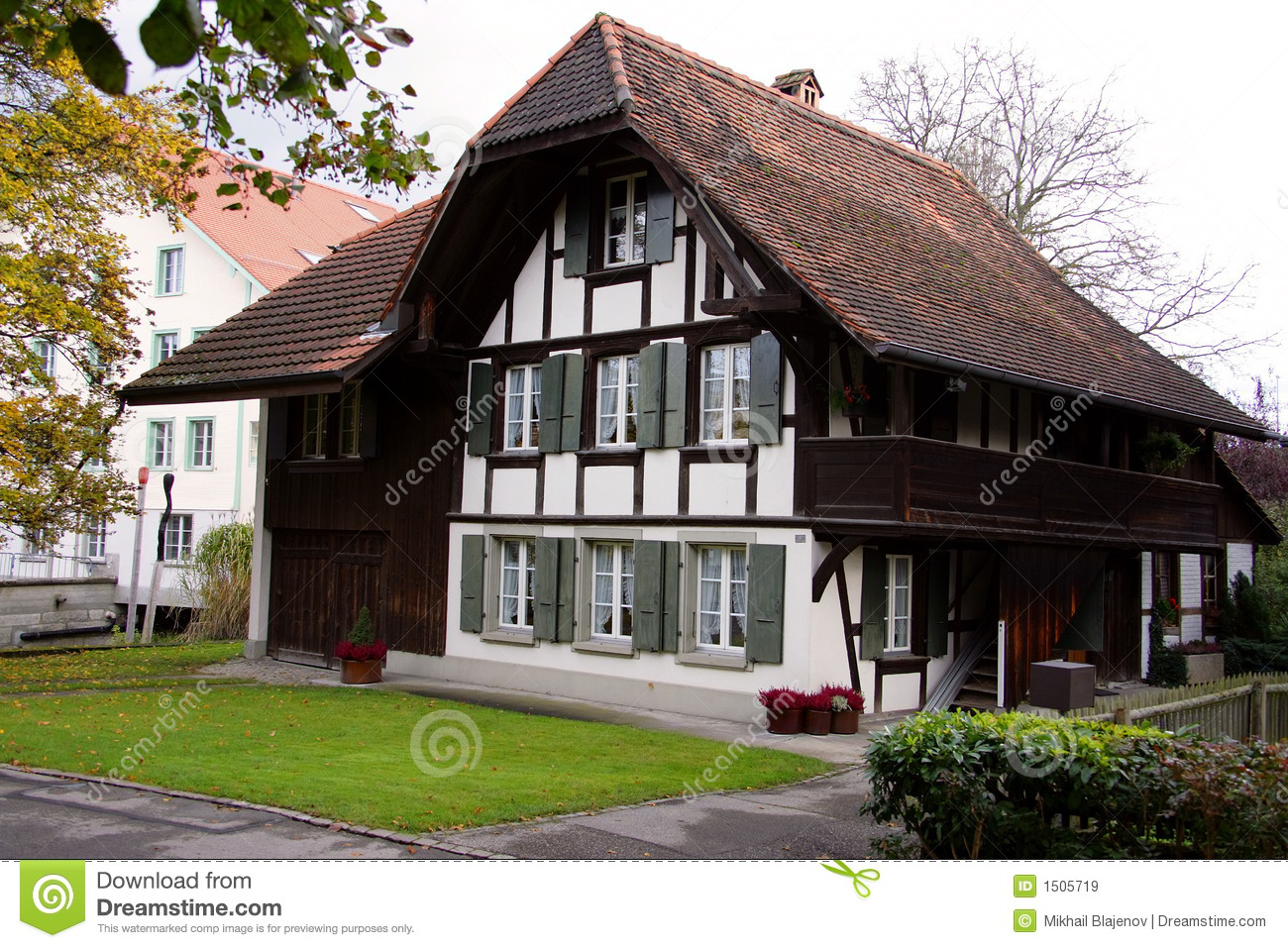Old Swiss House 3 Royalty Free Stock Images Image 1505719