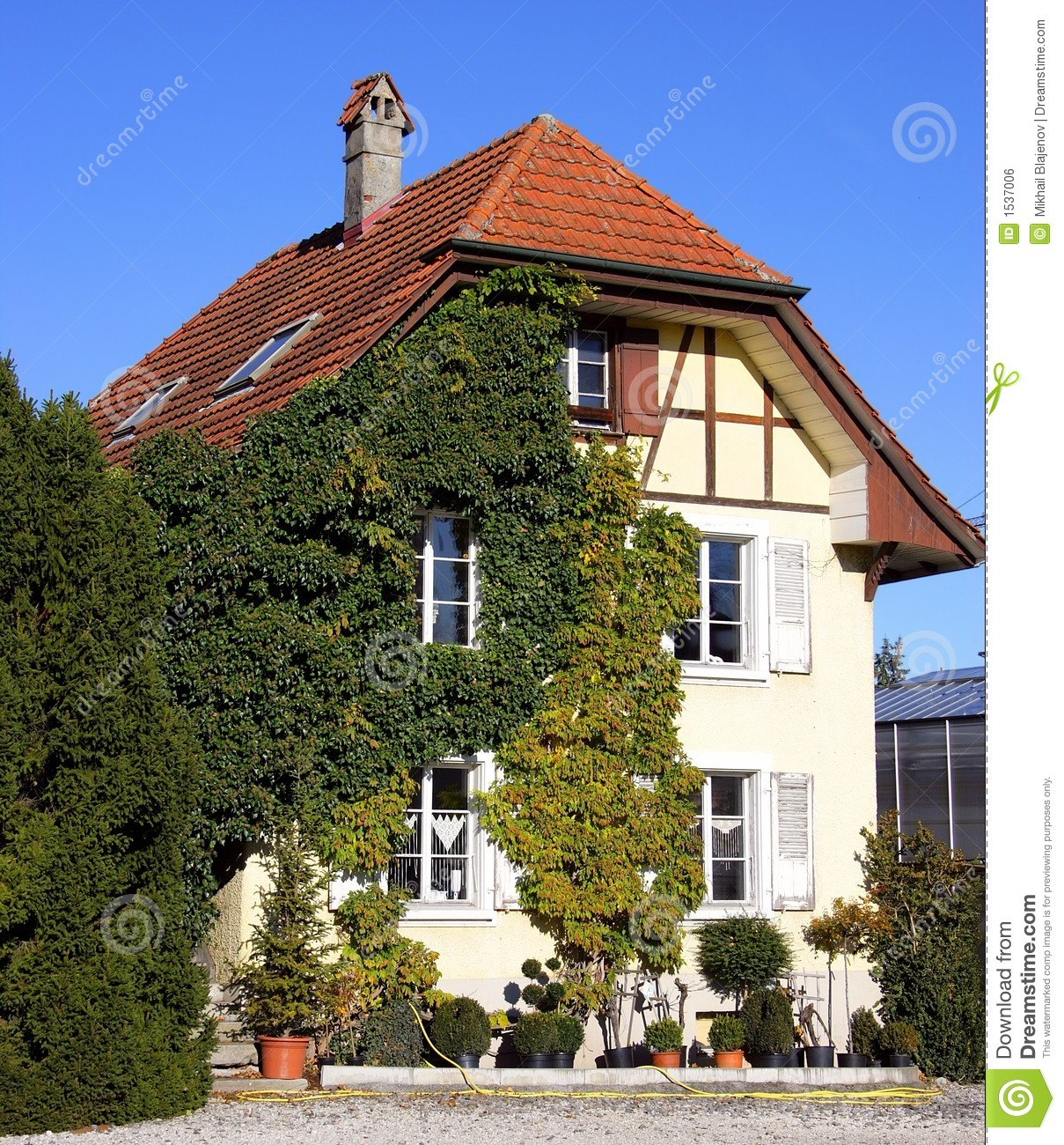 Old Swiss House 5 Royalty Free Stock Image Image 1537006