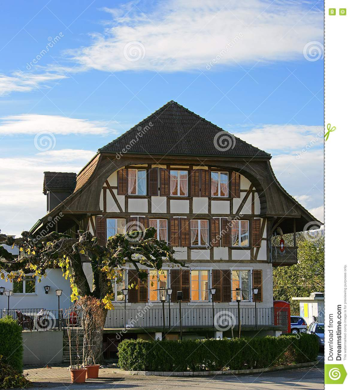 Old Swiss House 8 Royalty Free Stock Photos Image 1537908